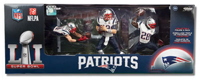 McFarlane NFL Patriots 2016 Super Bowl Team Set